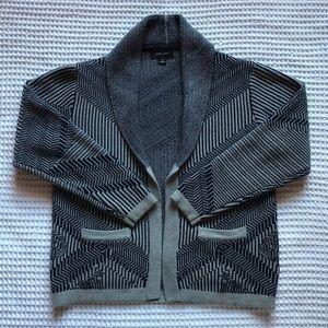 Like New Adam Levine Geometric Knit Cardigan